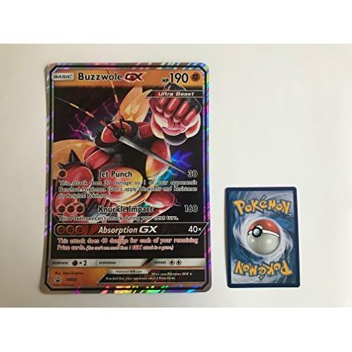 ESAM Carte Pokemon BUZZWOLE GX (Mouscoto) SM69 - Format Jumbo
