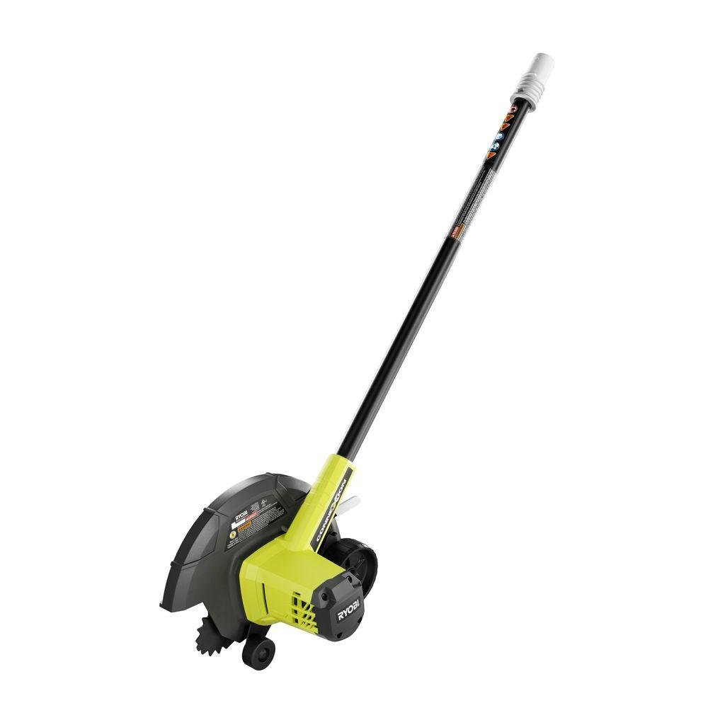 Ryobi ZRRY40030A 40-Volt and 24-Volt Cordless Edger Attachment - Power Base NOT Included (Renewed)