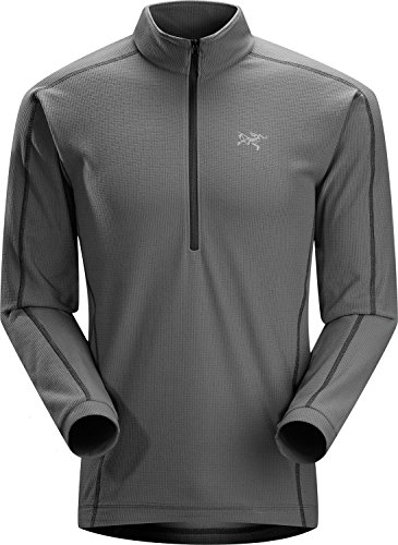 Arc'teryx Delta LT Zip - Men's Iron Anvil Large by Arc'teryx