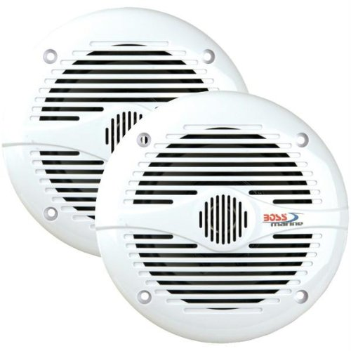Mr50w Marine (Boss Audio Mr50w/Mr50 2-Way Marine Speakers (5.25))