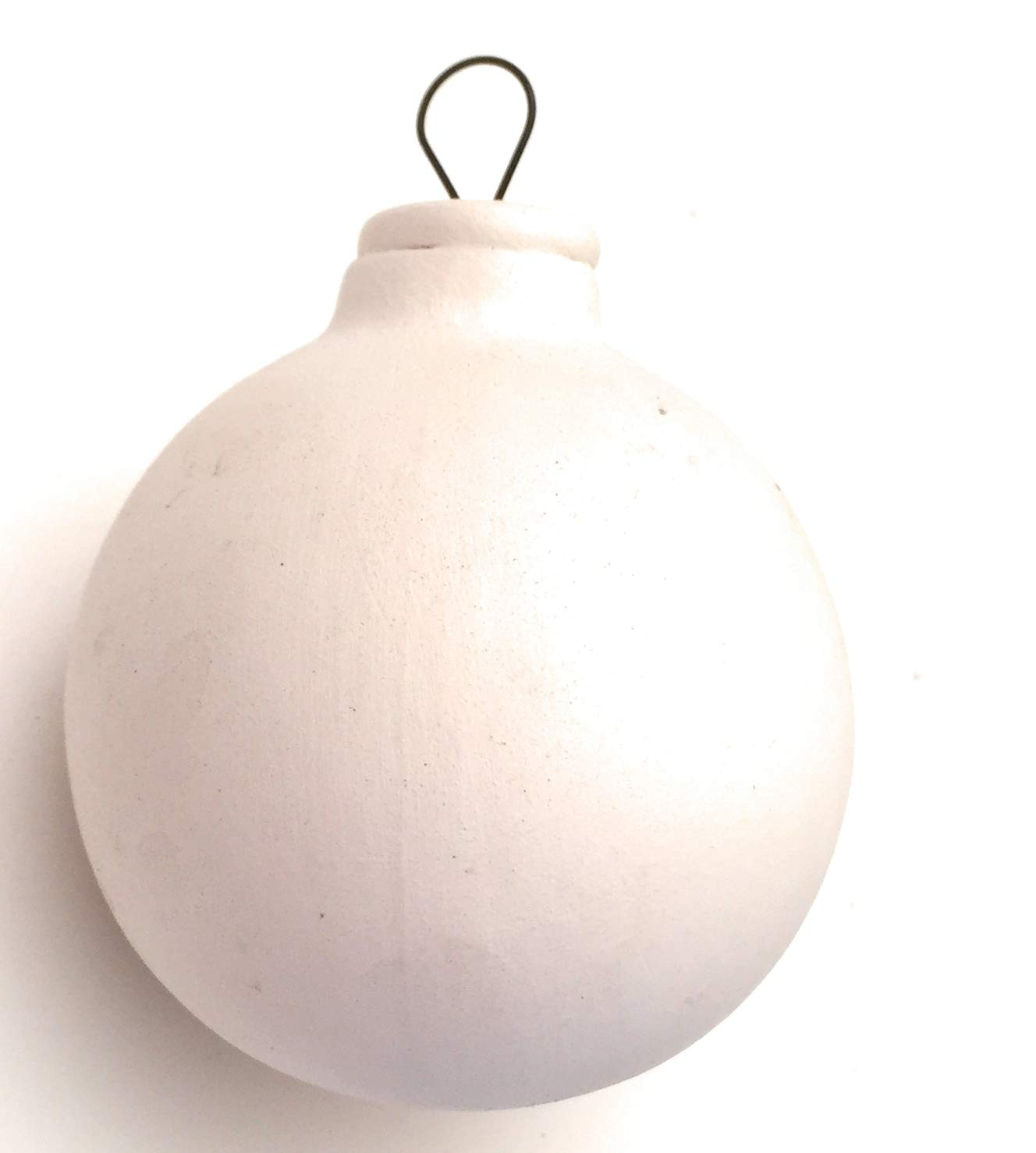Ceramic Bisque Ready to Paint Ornament Round Ball