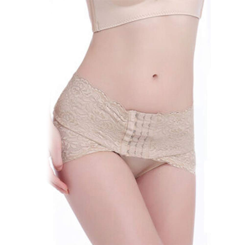 Suppyfly Beckenkorrektur G/ürtel Hip Up Frauen Postpartum Belly Wrap G/ürtel