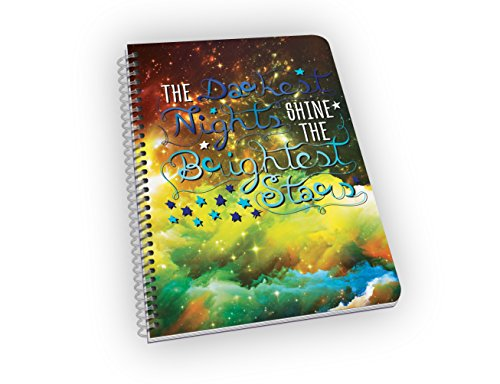 The Brightest Stars! Stylish and Motivational Idea Notebooks & Journals with Cool, Beautiful Photographs & Inspirational Sayings - Perfect Gift for Journaling, Doodling and Brainstorming