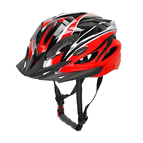 CCTRO Adult Cycling Bike Helmet, Eco-Friendly Adjustable Trinity Men Women Mountain Bicycle Road Bike Helmet Safety (Bike Adult Football)