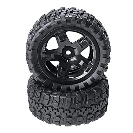 Amazoncom Remo P6971 Tires Assembly 116 Rc Car Parts For Truggy