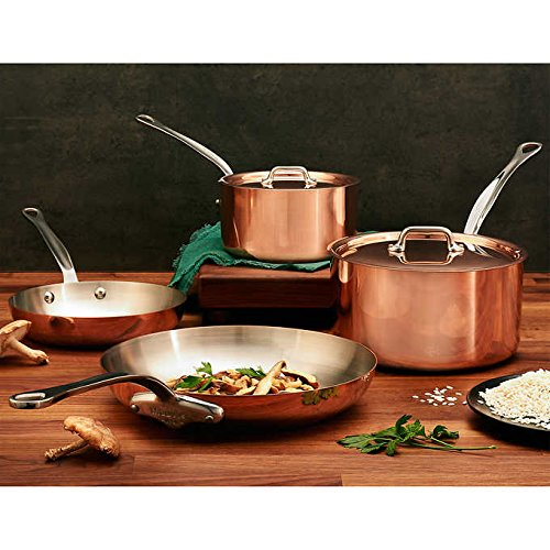 Heritage 6 Piece - Mauviel M'Heritage Copper with Stainless Steel Interior 6-piece Cookware Set