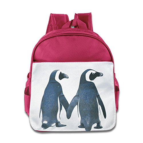 [Lovely Baby Lovely Penguin Couple Teenager Pink Schoolbag For 1-6 Years Old] (Baby Megamind Costume)