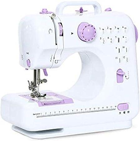 Yuaer Mini máquina de coser portátil, máquina de coser eléctrica ...