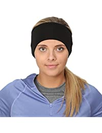 Women's Ponytail Headband | Moisture Wicking Ear Band | The Power Running Headband