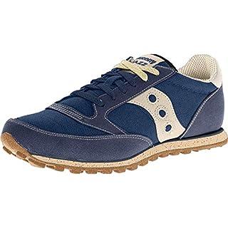 Saucony mens Jazz Low Pro Vegan Sneaker, Navy, 8.5 M US