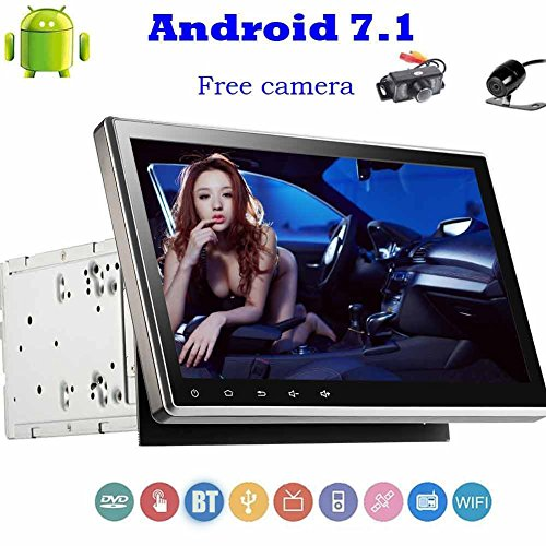 Front and Back Camera Included!New Android Car Stereo 7.1 Wi