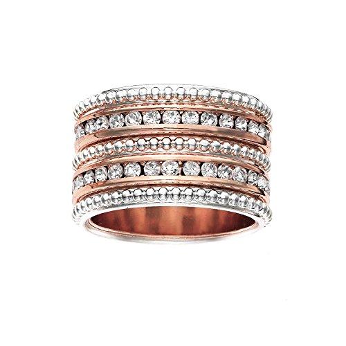 Rhodium Ring - 2