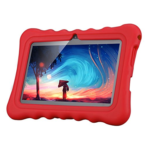 "Ainol Q88 7"" 1024x600 Android 4 4 Allwinner A33 512MB+8GB Dual Camera WiFi  External 3G Tablet PC (Red)"