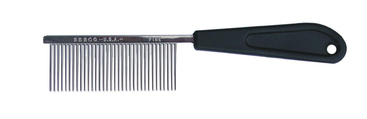 Resco Professional Anti-Static Best Cat Comb for Grooming, Fine Pin Spacing