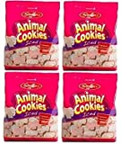 Stauffers, Animal Cookies Iced, 11 oz Bag, 4 Pack
