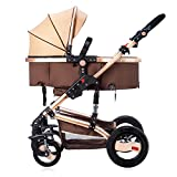 Baby Trend City Strollers for Newborn and Toddler Seat Strollers Safety Girls Mini Pram Pushchair (Rose Gold Bassinet Newborn seat) For Sale