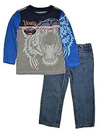 Alfa Global Boys' Tshirt and Pants 2pcs. Set