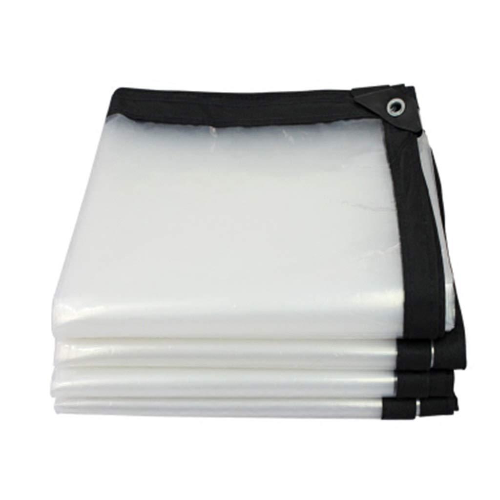 2×8m L-BHQF Tissu résistant à la Pluie imperméable de bÂche en Plastique imperméable de Balcon imperméable à l'eau en Plastique de bÂche de Prougeection en Plastique (Taille   2×6m)
