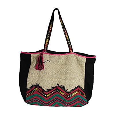 high-quality Handmade Vintage Bohemian Indian Tribal Ethnic Large Travel  Fashion Tote Bag 502770d649