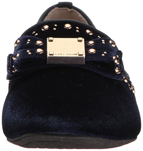 Pictures of Cole Haan Women's Tali Bow Stud W09619 Blue Velvet 6