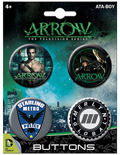 Ata-Boy Arrow on CW Set of 4 1.25