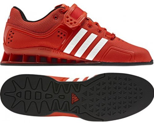 Adidas Adipower Weightlifting Shoes - 12.5 - Red