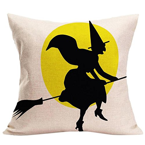 [Charberry Halloween Sofa Bed Home Decorations Cute Pillowcase Cushion Cover (E)] (Horror Makeup Value Kit)