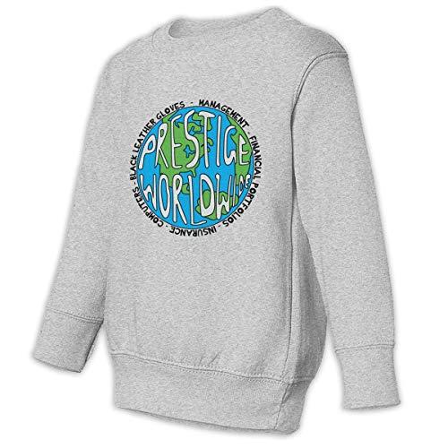 (Romantic Fish Toddler Juvenile Prestige Worldwide Crew Neck Sweatshirt Gray 4T)