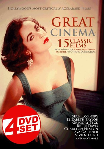 - Great Cinema: 15 Classic Films (4 Disc Set)