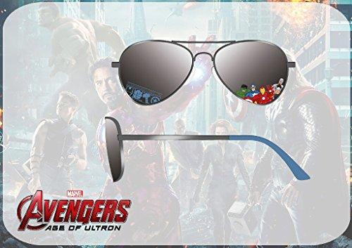 KD de Euroswan Gafas Kids sol Euroswan Avengers Avengers tipo MV16117 Kids MV16117 aviador xCZnw8Fq