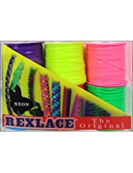 Pepperell Braiding Co. Pepperell Rexlace 6 Pk Neon Colors 6 P...