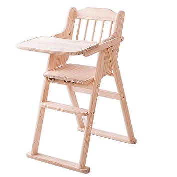 Chaise Pliante Chaise Haute En Bois Pour Bébé Avec Plateau Chaise