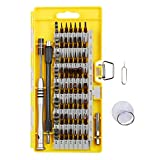 Showpin 62 in 1 Screwdriver Set, Precision Screwdriver Set with 56 Bits, Professional Electronics Repair Tool Kit for Cell Phone/ iPad/ Tablet/ PC/ MacBook and Other Electronics