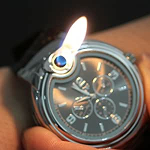 Novelty Watch Shaped Collectable Butane