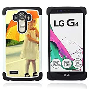- cute umbrella skirt mother child/ H??brido 3in1 Deluxe Impreso duro Soft Alto Impacto caja de la armadura Defender - SHIMIN CAO - For LG G4 H815 H810 F500L
