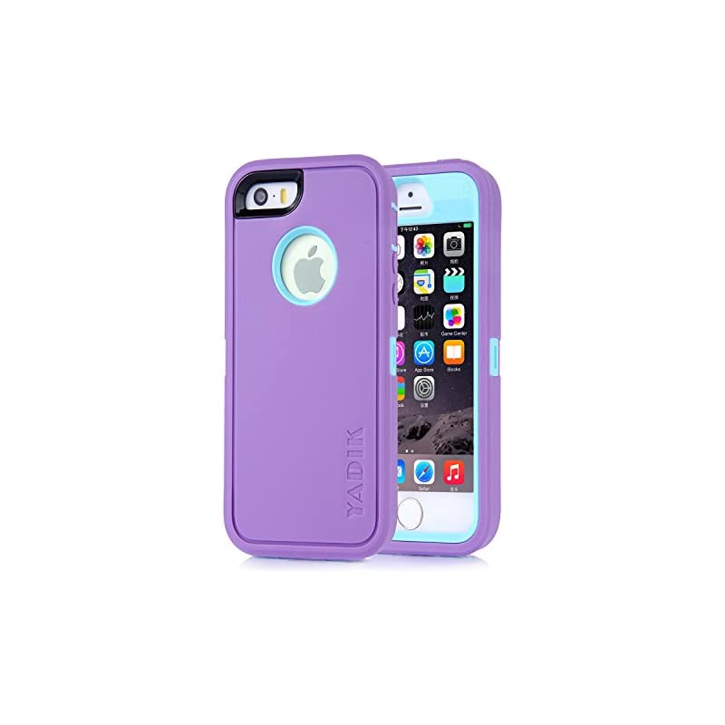 iPhone SE Case, Yadik Shock Absorption H