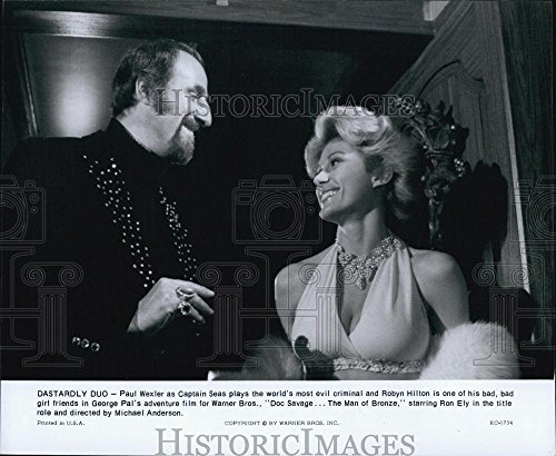 1975 Press Photo Paul Wexler And Robyn Hilton In Doc Savage  The Man Of Bronze