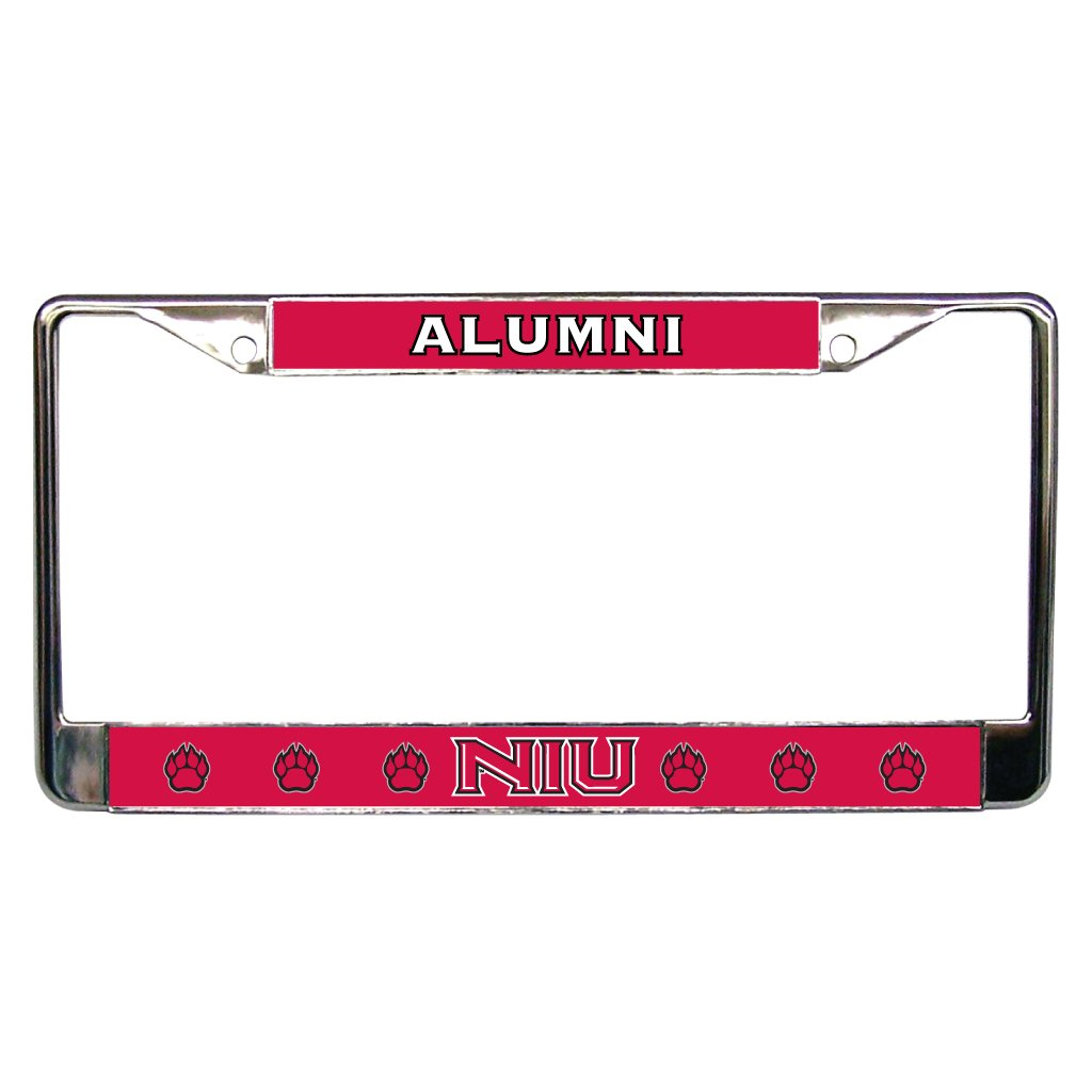 Amazon.com : Northern Illinois University - License Plate Frame ...