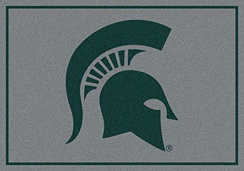 "Michigan State Spartans NCAA Area Rug - Team Spirit (3'10"" x ()"