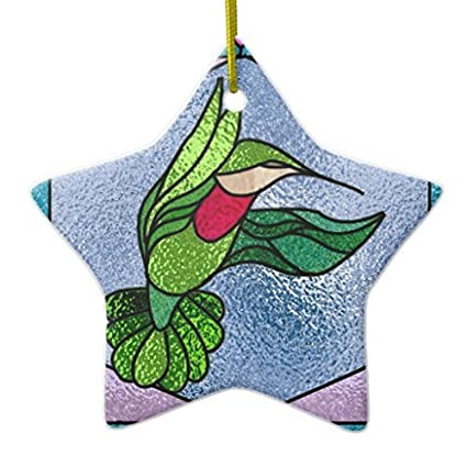Enid545Anne Christmas Tree Decorations Faux Stained Glass Everyday Ornament  New Yeay Gift Star Christmas Ornament New - Amazon.com: Enid545Anne Christmas Tree Decorations Faux Stained