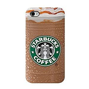 SUUER Starbucks Ice Coffee Unique Personalized Custom Hard CASE for iPhone 5 5s Durable Case Cover hjbrhga1544