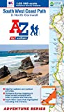 img - for SW Coast Path North Cornwall Adventure Atlas1:25K A-Z (A-Z Adventure Atlas) book / textbook / text book