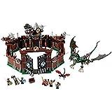 Lego Vikings - 7019 - Jeu De Construction - Forteresse Viking Contre Le Fafnir Dragon