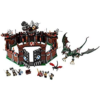 Amazoncom Lego Vikings Set 7019 Viking Fortress Against The