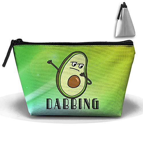 Louise Morrison Hip Hop Dabbing Dab Dance Avocado Pen Stationery Pencil Case Cosmetic Makeup Bag Pouch by Louise Morrison