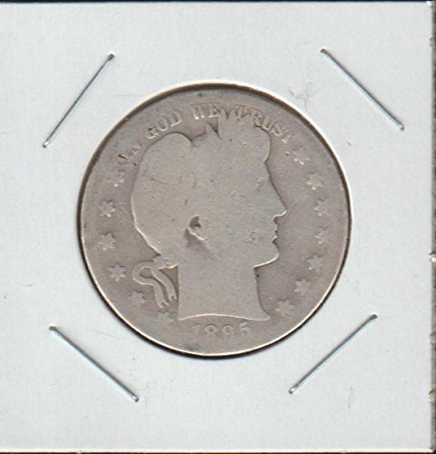 1895 S Barber or Liberty Head (1892-1915) Half Dollar About Good