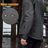 FREE SOLDIER Men's Outdoor Waterproof Soft Shell