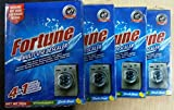 Fortune 4 in 1 Multi-Use Descaler for washing machine, Dishwasher (Pack of 4)