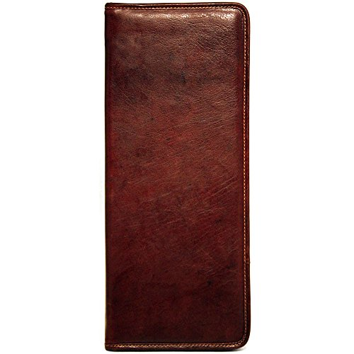 Jack Georges Voyager Tie Case (Brown) by Jack Georges