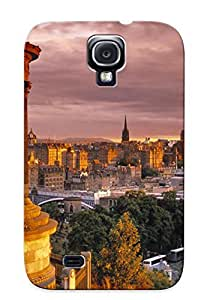 Hard Plastic Galaxy S4 Case Back Cover, Hot Stewart Monument, Edinburgh Case For Christmas's Perfect Gift